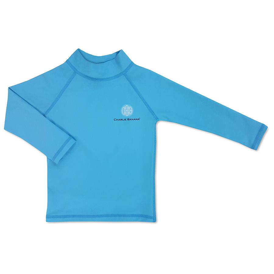 RASH GUARD חולצת ים לקטנטנים – טורקיז