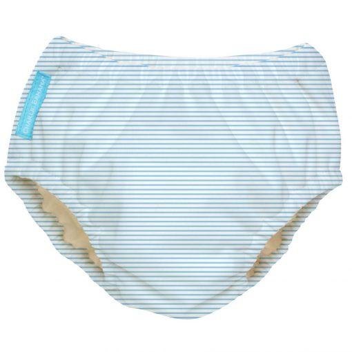 2 ב – 1 תחתון גמילה ובגד ים רב פעמי pencil stripes