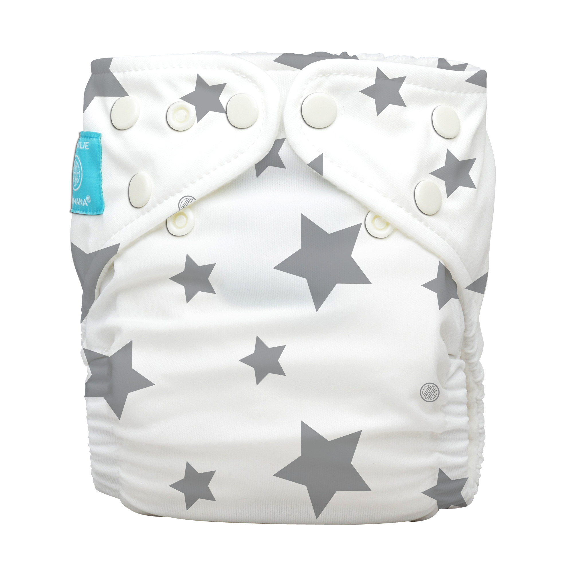 חיתול רב פעמי TWINKLE LITTLE STAR WHITE