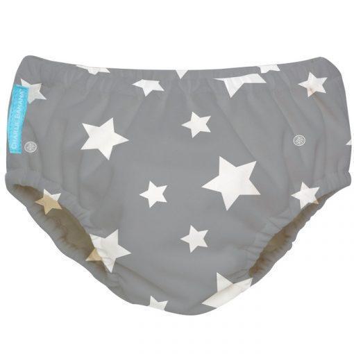 תחתון סופג לילדים בוגרים - SPU TWINKLE LITTLE STAR WHITE