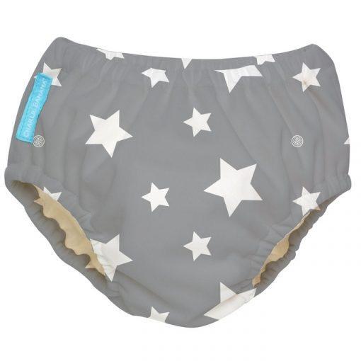 חיתול שחייה ותחתון גמילה TWINKLE LITTLE STAR WHITE